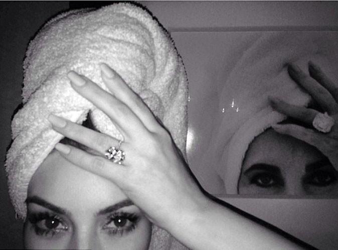 Kim Kardashian : et maintenant elle se prend pour Elizabeth Taylor !