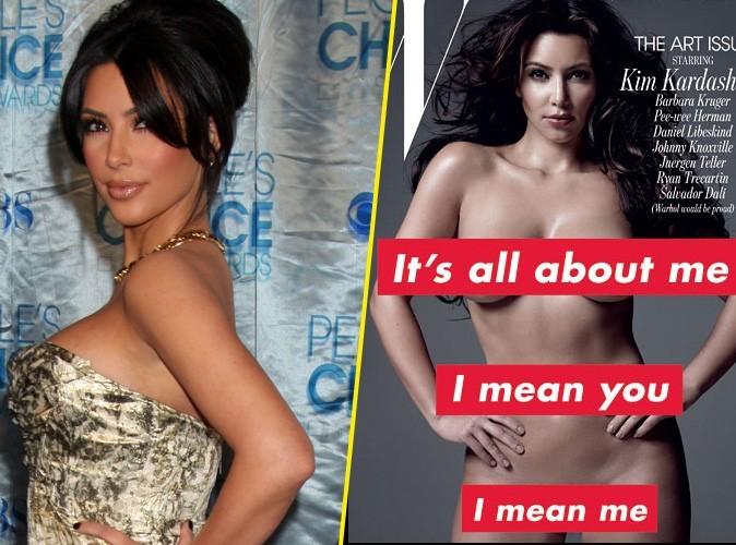 "Kim Kardashian joue les girouettes : ""Avec le recul, j'adore mes photos pour W"" !"