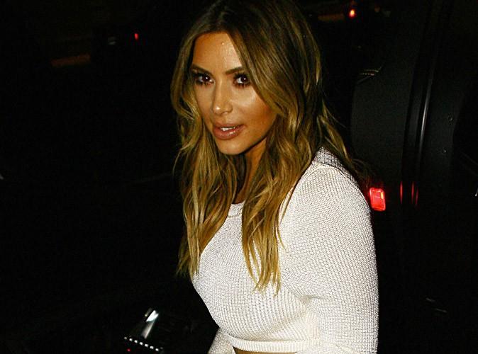 "Kim Kardashian : ""Oh mon Dieu, ma robe s'est déchirée"" !"