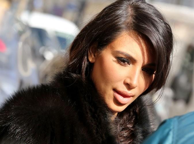 Kim Kardashian : panique à bord, la bimbo a cru faire une fausse couche !