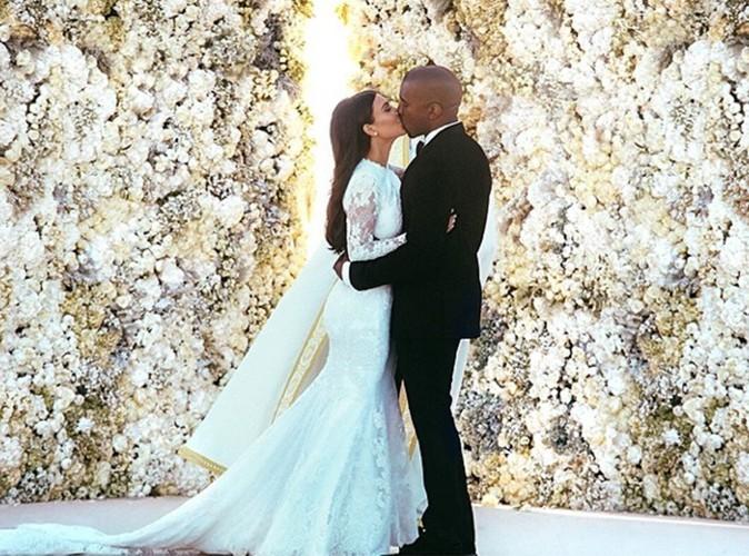 "Kim Kardashian : sa photo de mariage bat le record de ""likes"" sur Instagram !"