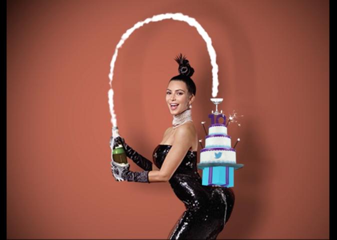 Kim Kardashian, Schwarzenegger, Demi Lovato : Un anniversaire de star pour Twitter!