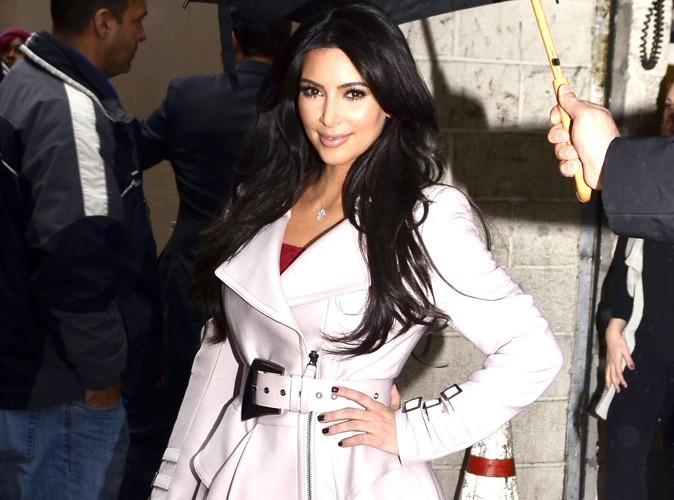 Kim Kardashian : un intrus dans le jardin !