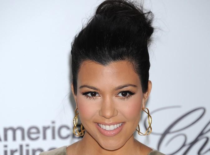 kourtney kardashian enceinte elle se colore les cheveux et cre la - Coloration Cheveux Femme Enceinte