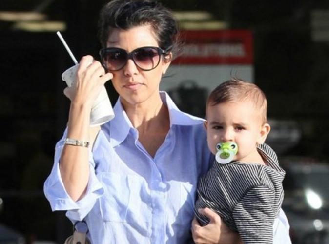Kourtney Kardashian ne veut plus exposer son fils Mason à la TV!