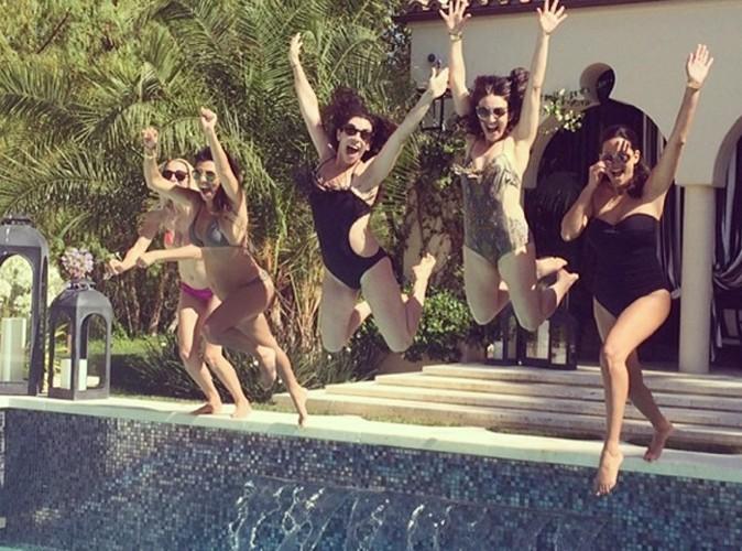 Kourtney Kardashian : une femme enceinte qui fait le grand saut !