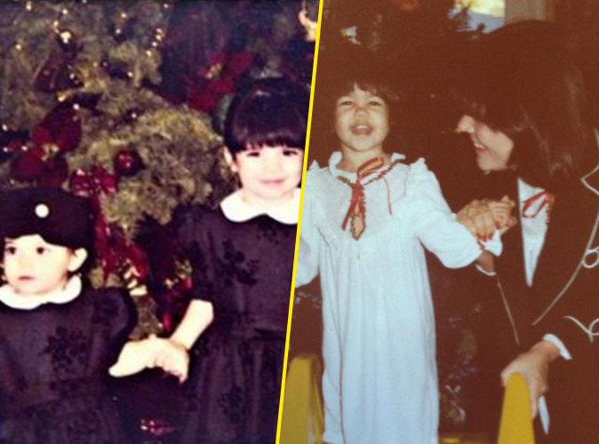 Kris Jenner dévoile des photos vintage de ses filles avant les fêtes !