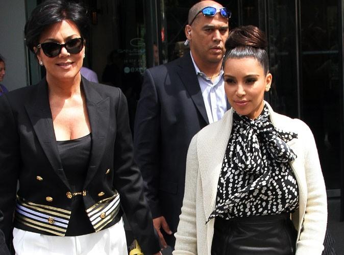 Kris Jenner : elle ne veut plus que Kanye West parle de la sextape de Kim !