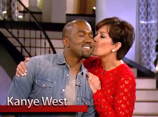 Kris Jenner et Kanye West : complices et soudés sur le plateau du Kris Jenner Show !