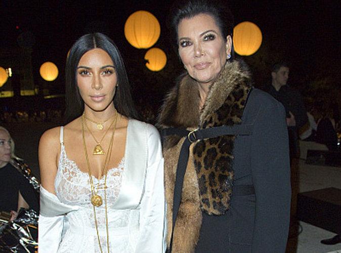 """Kris Jenner : """"Kim est une traître"""""""