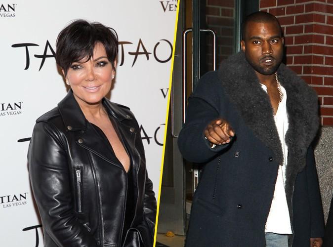 Kris Jenner : lassée par les folies de Kanye West, elle aimerait qu'il se tempère !