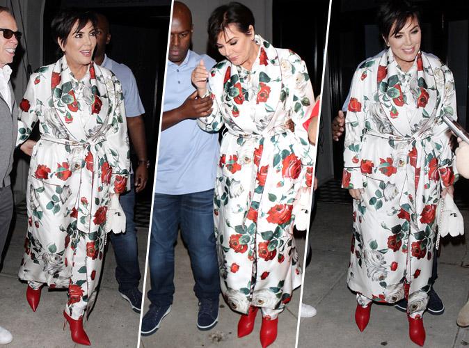 Kris Jenner : mais c'est quoi ce look ?