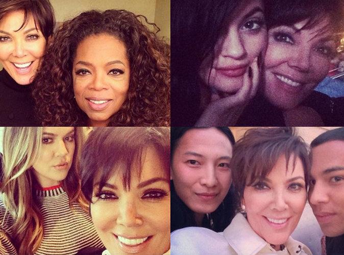 Kris Jenner : nostalgique pour la journée du selfie !