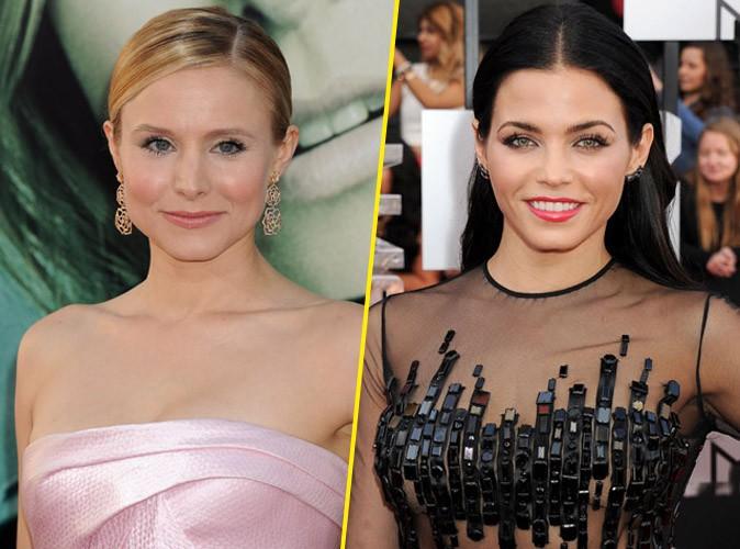 Kristen Bell et Jenna Dewan : deux beautés sensuelles et complètement nues pour Allure...