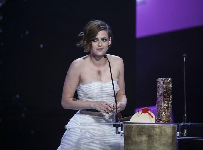 """Kristen Stewart : """"Je préfère recevoir un César plutôt qu'un Oscar"""""""