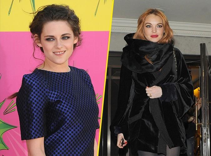 Kristen Stewart : sa nouvelle amie s'appelle Lindsay Lohan !