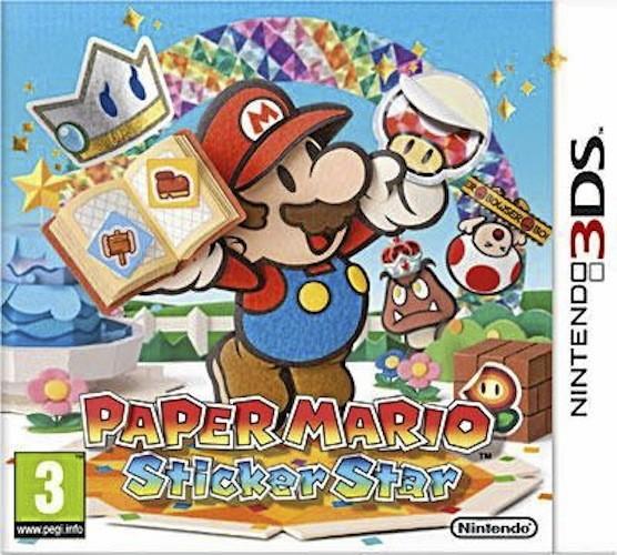 Paper Mario – Sticker Star, sur Nintendo 3DS. 36 €