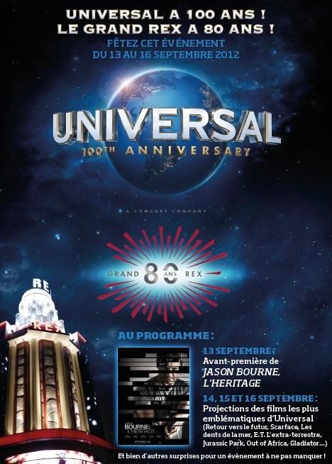 Universal fête ses 100 ans au Grand Rex !