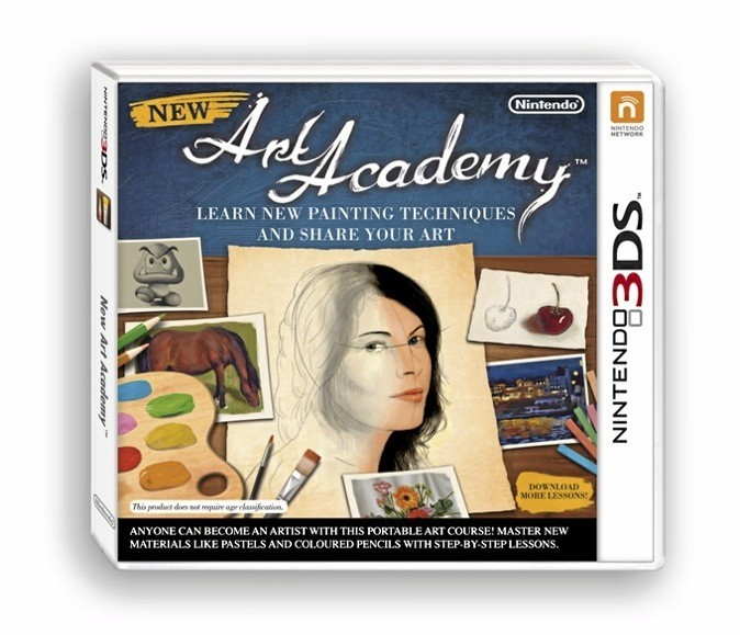 New Art Academy, Nintendo 3DS. 27,50 €.