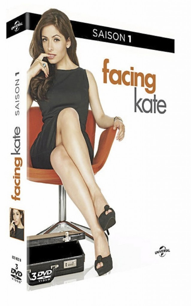 Facing Kate, saison 1, DVD Universal. 24,99 €.