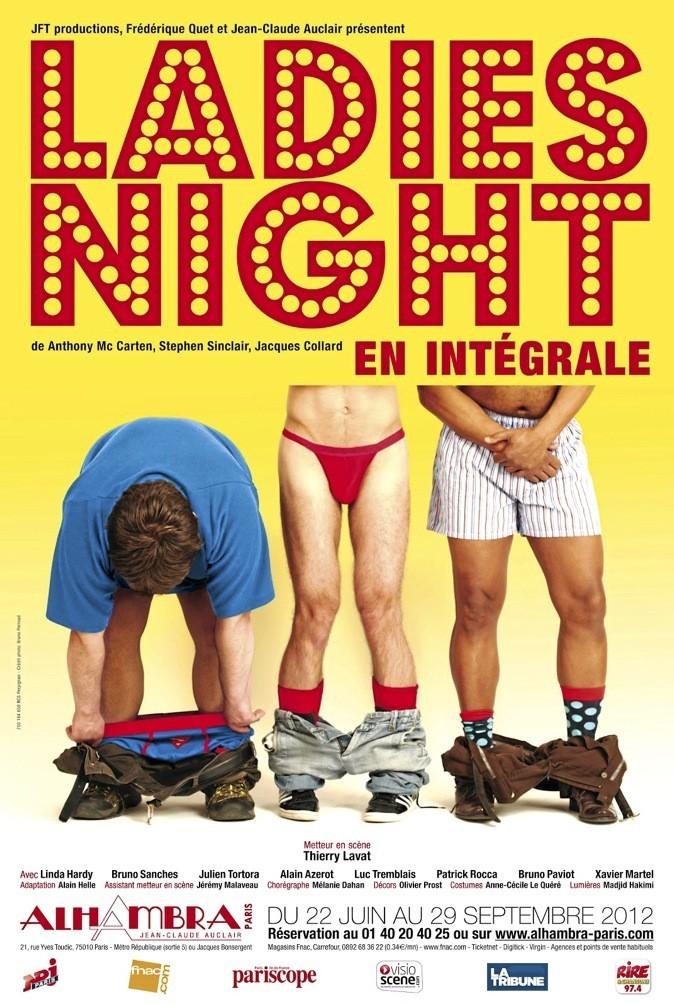 Ladies Night, avec Linda Hardy en coach sexy, est la pièce délirante de l'été. 21h. Du mercredi au samedi à l'Alhambra, Paris 10e.