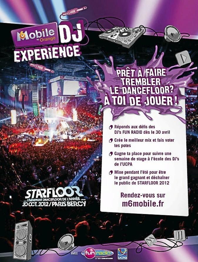 Starfloor, à Paris-Bercy!! www.m6mobiledjexperience.fr