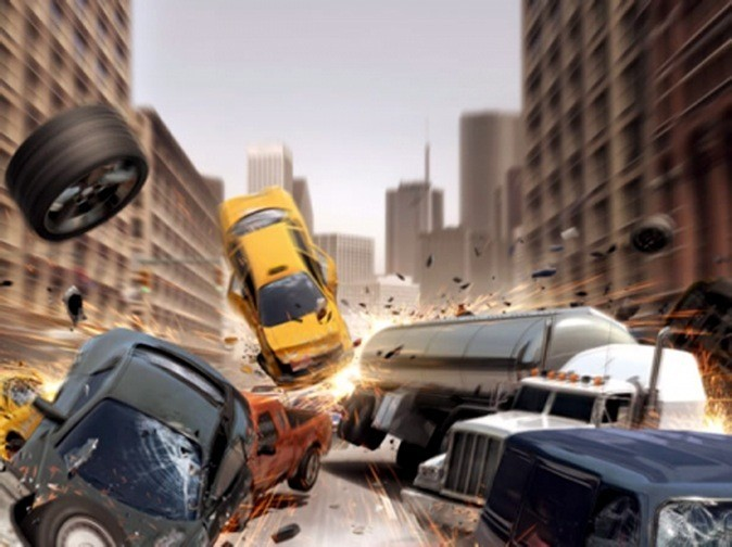 Burnout Crash !, Electronics Art sur l'App Store. 3,99 €.