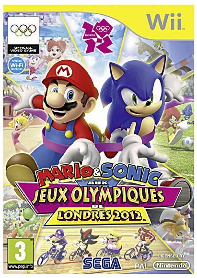 Mario et Sonic aux jeux Olympiques de Londres. Jeu Nintendo Wii. 40€