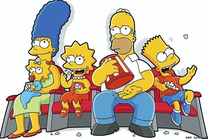 Marrez-vous devant les Simpson sur W9 à 19h 40 !