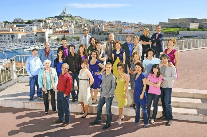 """La série """"Plus belle la vie"""" sur France 3 à 20h10"""