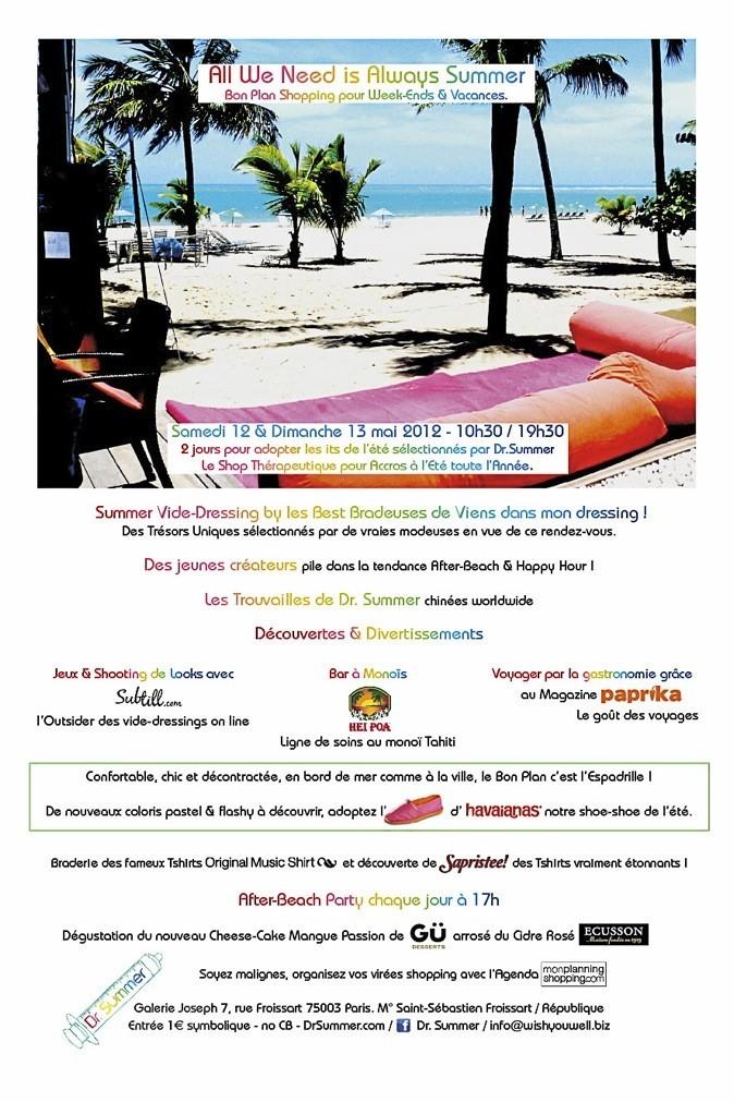 Braderie Dr Summer, Galerie Joseph, 7, rue Froissart, 75003 Paris. Les 12 et 13 mai, de 10h30 à 19h30