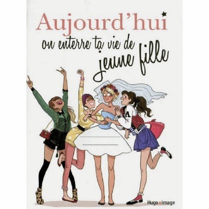 "Livre "" Aujourd'hui, on enterre ta vie de jeune fille"" à 7,99€"