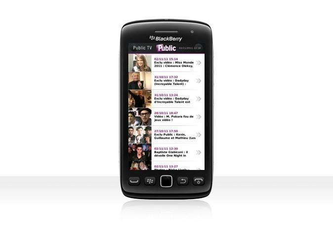 L'appli Public est désormais disponible sur Blackberry !
