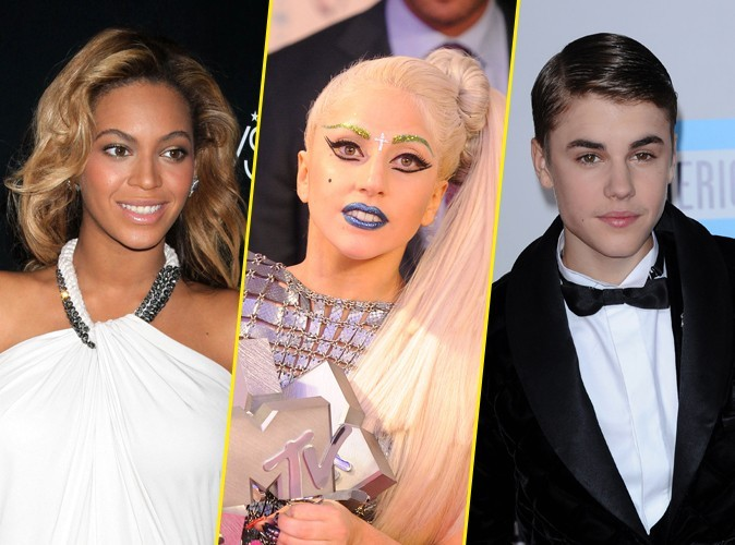 Lady Gaga, Beyoncé, Katy Perry, Justin Bieber : ce ne sont pas du tout les artistes les plus écoutés sur les sites spécialisés !