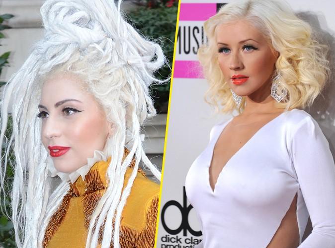 Lady Gaga et Christina Aguilera : passage en studio après leur coup de coeur réciproque !