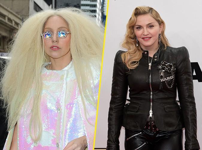 """Lady Gaga : """"Je me fiche de savoir que Madonna ne m'aime pas !"""""""