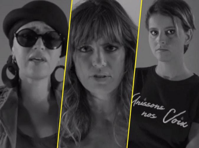 Laëtitia Milot, Lââm, Najat Vallaud-Belkacem : toutes unies contre les violences faites aux femmes !