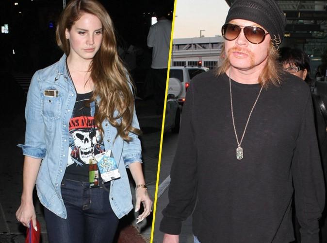 Lana Del Rey en couple avec le rockeur Axl Rose ?
