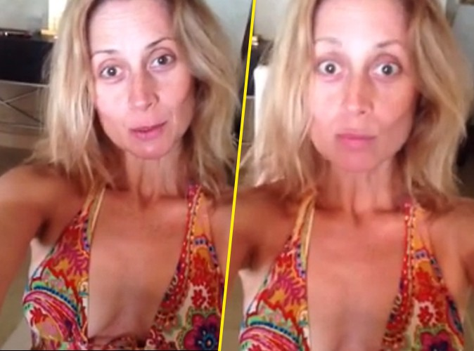 Lara Fabian : elle se dévoile sans make-up et en maillot !