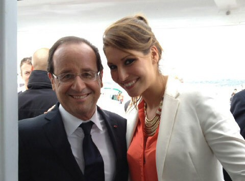 Laury Thilleman : fière d'avoir rencontré le président !