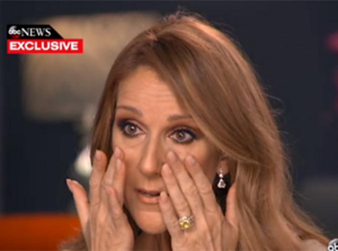 Le combat de René contre le cancer, Céline Dion fond en larmes à la télé américaine !