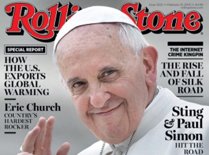 Le pape François : il agite toujours autant la presse américaine et s'offre cette fois-ci la une de Rolling Stone !
