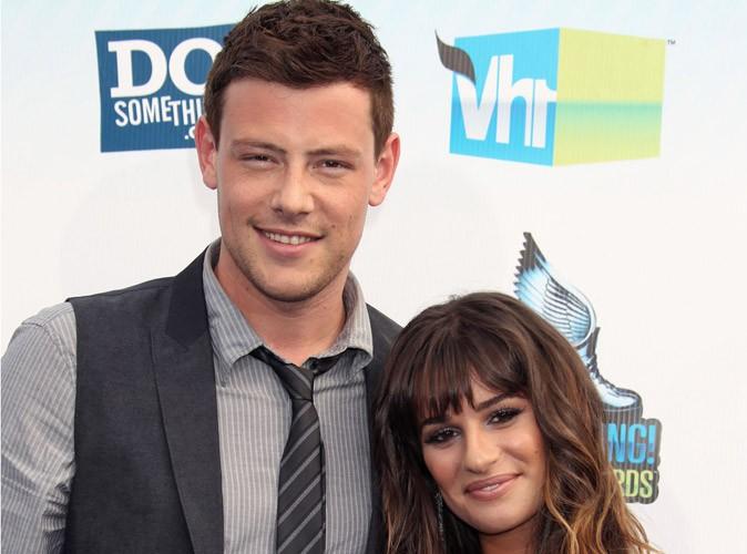 Lea Michele : Cory Monteith toujours à ses côtés...