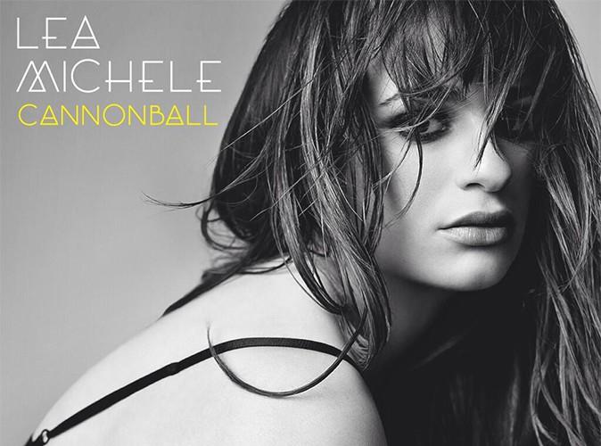 """Lea Michele : regard noir pour la pochette de son premier single """"Cannonball"""" !"""
