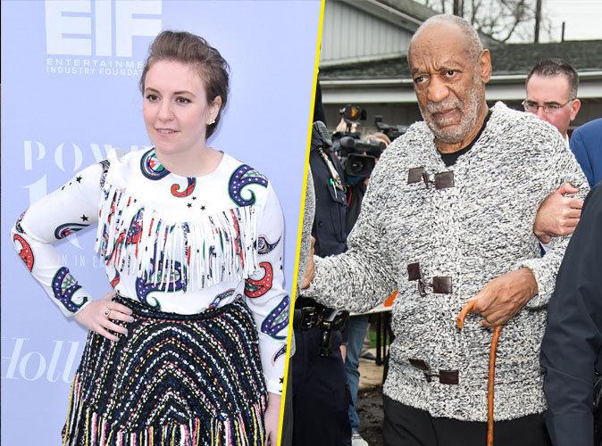 Lena Dunham attaque Bill Cosby sur Twitter