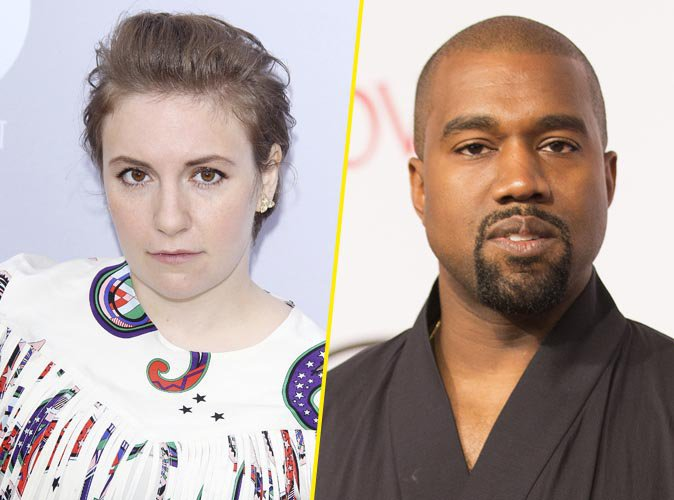 """Lena Dunham tacle méchamment Kanye West et son clip """"Famous"""" !"""