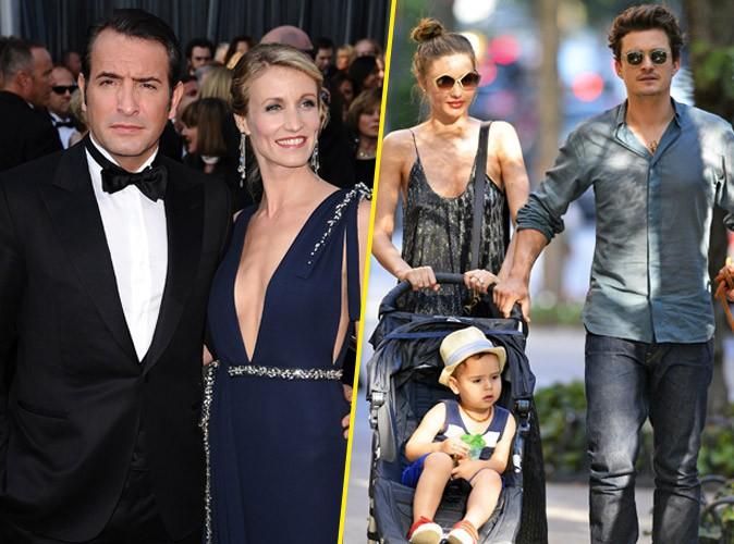 Les séparations des couples stars : Alexandra Lamy & Jean Dujardin et Miranda Kerr & Orlando Bloom