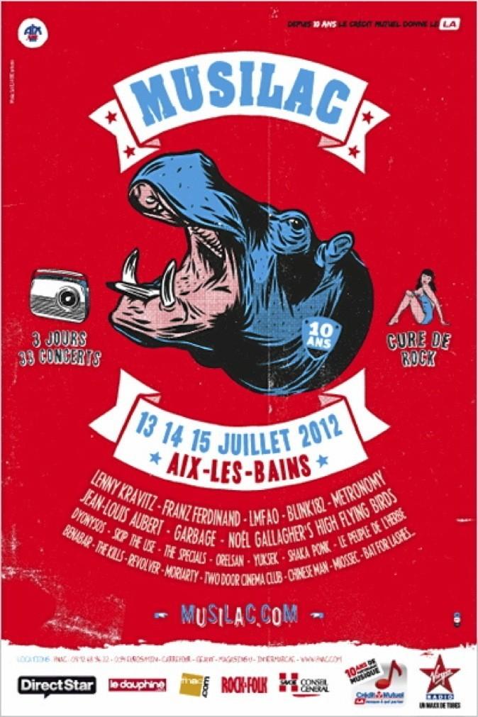 Festival de Aix Les Bains : 49 € le pass jour. Esplanade du Lac, 73100 Aix-les-Bains !