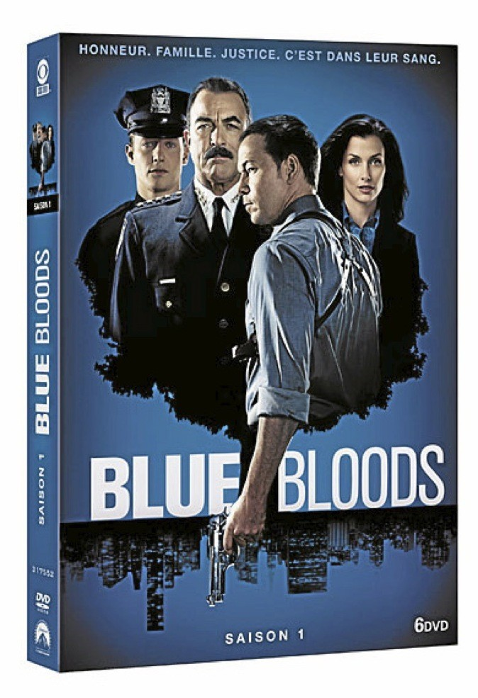 Blue Bloods, saison 1, DVD Paramount. 39,99 €.
