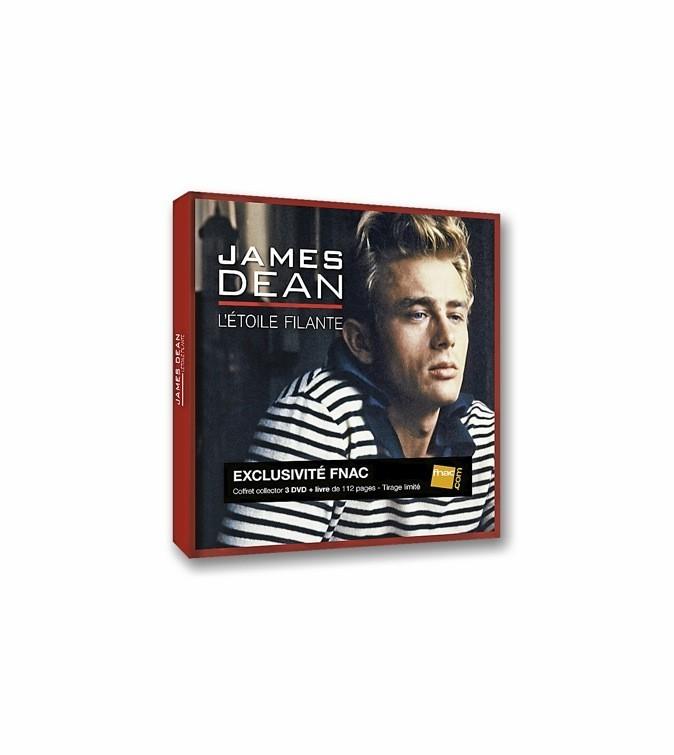 James Dean : l'étoile fi lante, coffret édition limitée Fnac. 45 €.